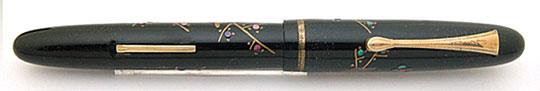 Platinum 梅に鶯 平蒔絵 Lever Filler 1930s