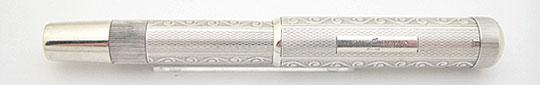 Montblanc No.2 Short Safety Filler 900 Silver