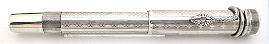 Montblanc No.2 Safety Filler 900 Silver