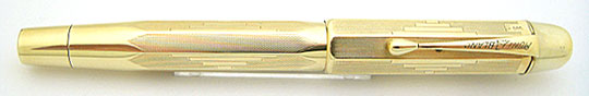 Montblanc No.4 Push Knob Filler 585 Solid Gold