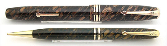 Conway Stewart No.58 & 18 Pencil Tiger Eye Set