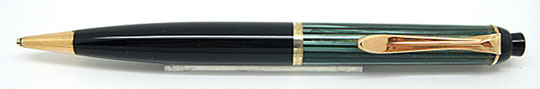 Pelikan 350 Pencil Green Stripe/Black