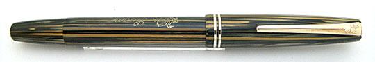 Swan No.1 Push Button Filler Brown Stripe