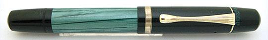 Pelikan 100N Black/Green MBL Steno Nib