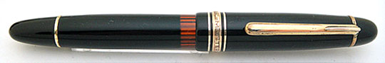 "Montblanc 146G Meisterstück Black ""G"" First Model"