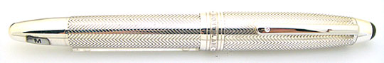 Montblanc Meisterstück Le Grand Solitaire Silver Barley