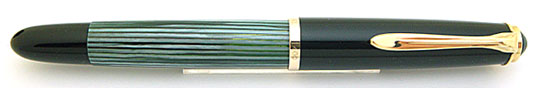Pelikan 400NN Black/Green Stripe