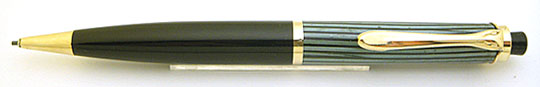Pelikan 450 Pencil Black/Green Stripe