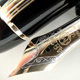 Montblanc 149.G Meisterstuck 50s Super Long Window  | Montblanc L139G Meisterstuck 585 Solid Gold Clip