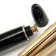 275 Push Buttun Filler Rolled Gold Cap | モンブラン