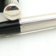 Diplomat No.4 Safety 900 Silver Pin Stripe by Montblanc   ディプロマット