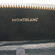 Montblanc Leather Pen Case Navy 50s   モンブラン
