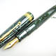 Omas Arte Italiana Celluloid Arco Green Extra Gold Finish | オマス