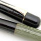 Pelikan 100 Black/Pale Green MBL 2nd Generation  | ペリカン