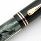 Pelikan 100 Black/Grey Green Swirling MBL | ペリカン