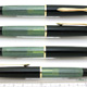 Pelikan 140 Black/Green Stripe 18c-EF | ペリカン