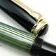 Pelikan 400 Black/Green Stripe   ペリカン