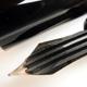 Pelikan 400NN Black/Green Stripe Steno | ペリカン