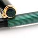 Pelikan M400 Black/Green Stripe Early   ペリカン