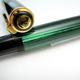 Pelikan M800 Black/Jade Green Old Type E/N Imprint Nib   ペリカン